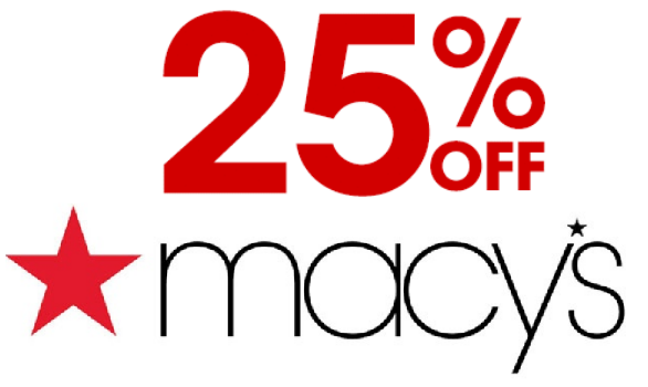How to get 25 off your next order from macy 39 s for Macy s articulos de cocina